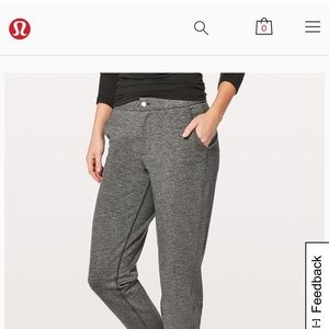 Lululemon City Trek Trouser ll size 6